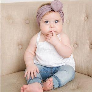 Other - Turbon Nylon Baby Headband